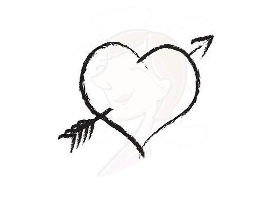 Rustic Heart Clip Art Digital | Clipart Panda - Free Clipart Images