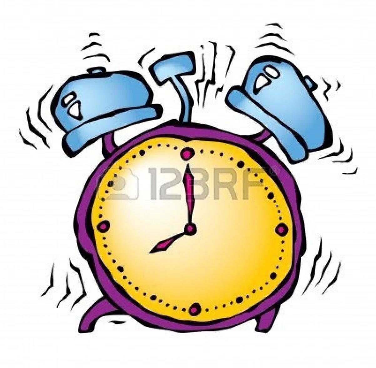 Clipart Alarm Clock Ringing