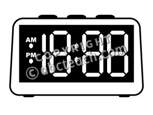 Blank Digital Clock Clipart | Clipart Panda - Free Clipart ...