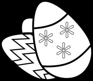 Easter Egg Clipart Black And White | Clipart Panda - Free ... Easter Clipart Free Black And White