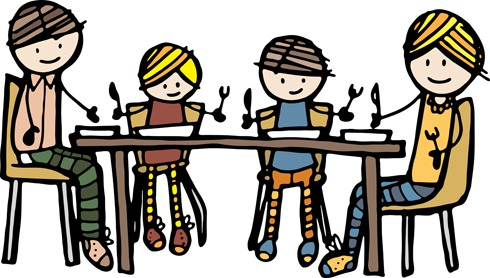 dinner clipart clipart panda free clipart images rh clipartpanda com family dinner clipart black and white free clipart family at dinner table
