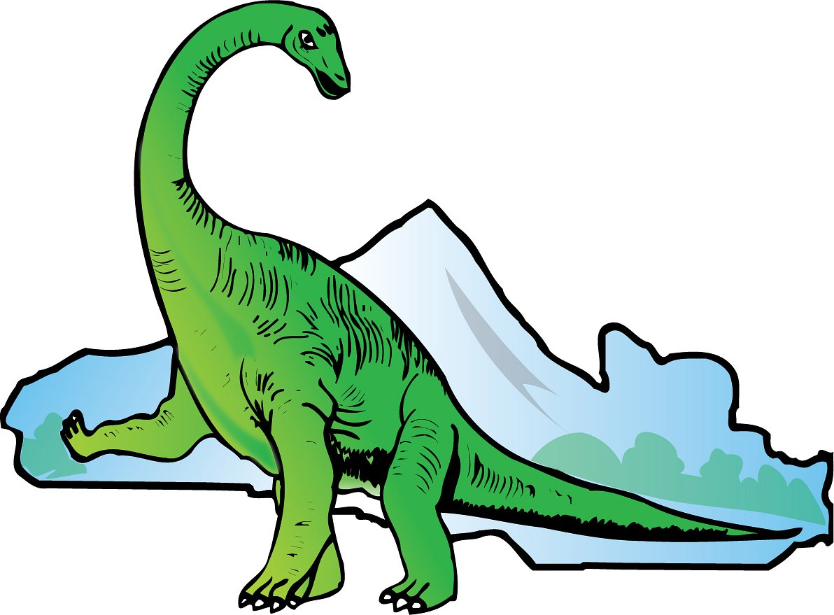 clipart of dinosaur - photo #6