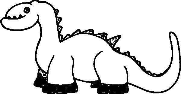 Clipart Panda Dinosaur