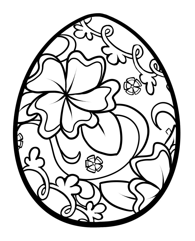 Coloring pages eggs