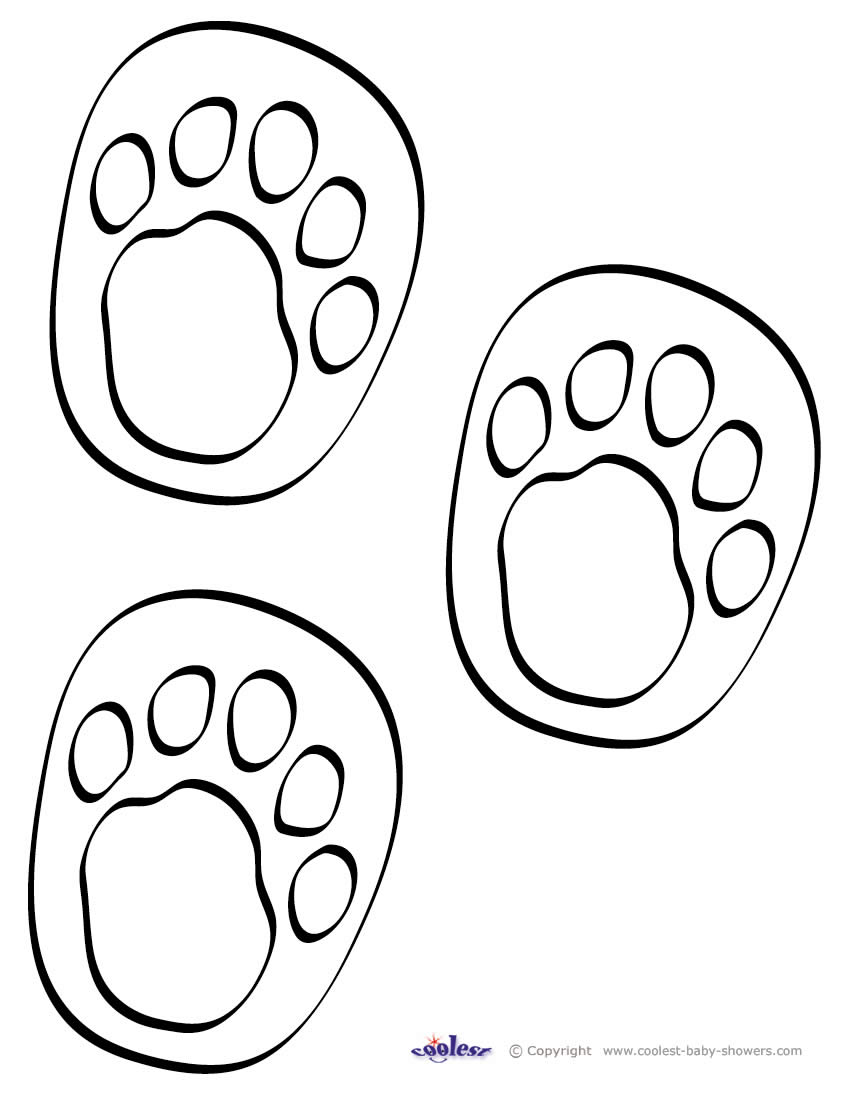photo regarding Printable Dinosaur Footprint named Printable dinosaur footprint coloring web pages