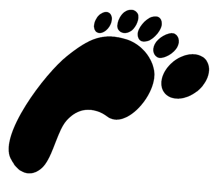 Clip Art Footprint Clip Art dinosaur footprint clip art clipart panda free images