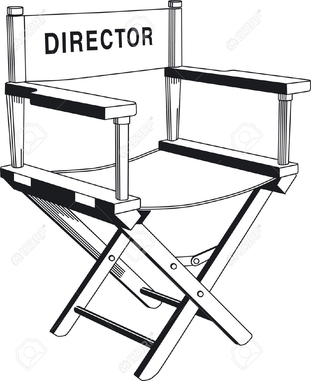 director: direction chair | Clipart Panda - Free Clipart Images