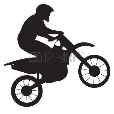 Clip Art Dirt Bike Clipart dirt bike clipart black and white panda free clipart