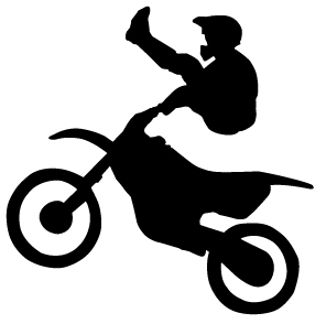 Dirt Bike Clipart Black And White dirt 20bike 20clipart 20black