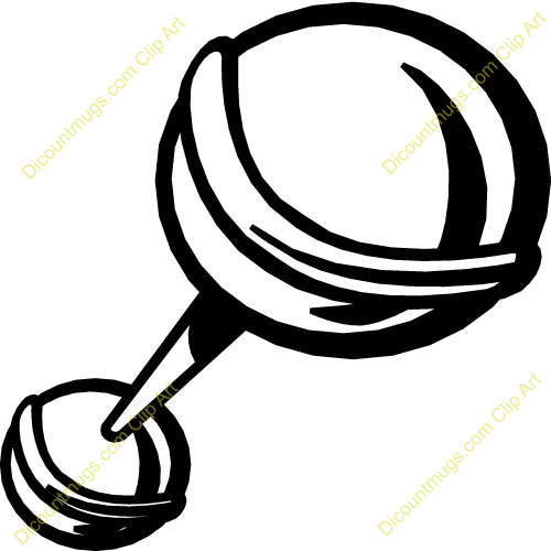 Baby Rattle Pictures Clip Art Baby Rattle Clip Art Black And