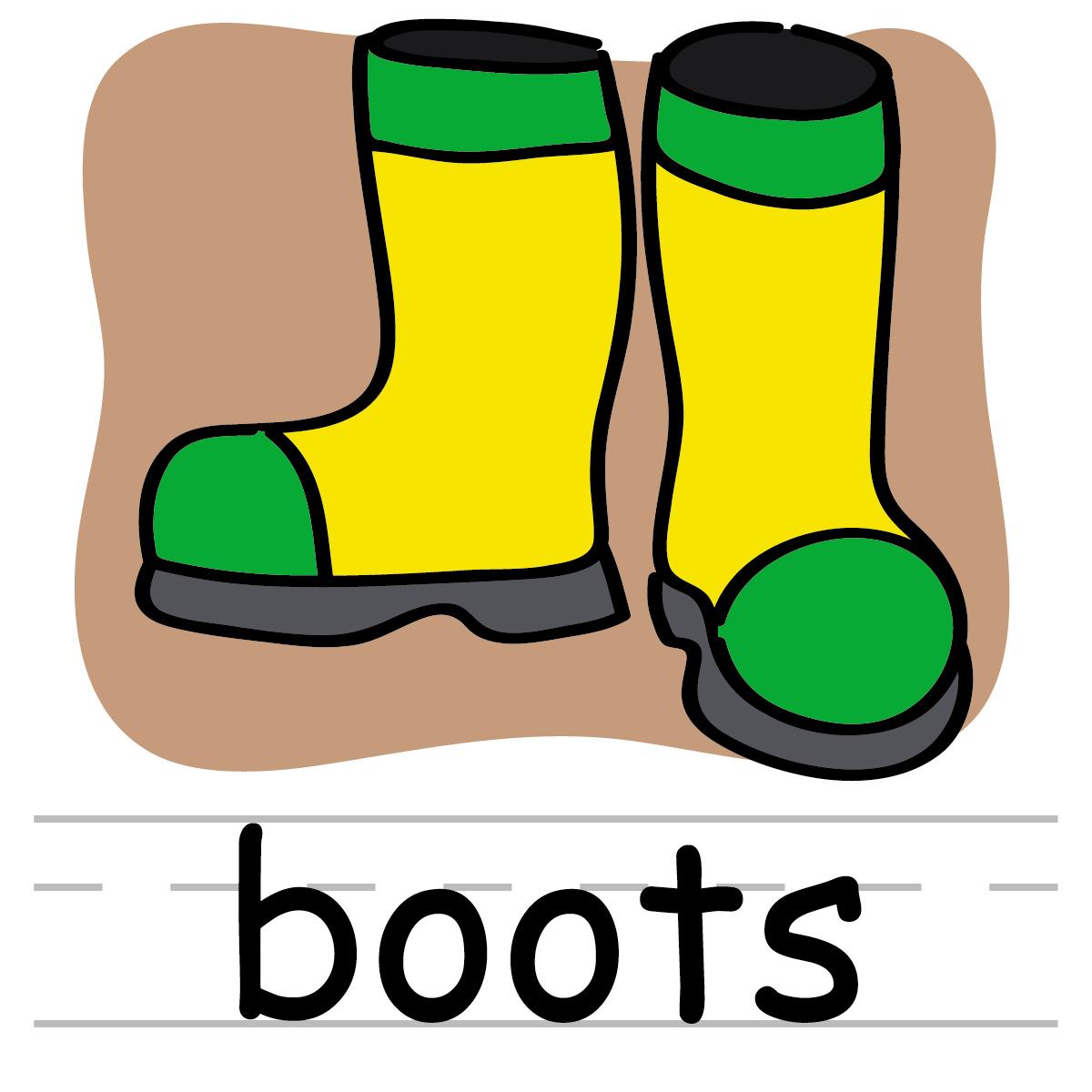 Boots Clip Art Wallpaper