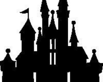the gallery for gt disney castle silhouette