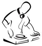 Clipart. DJ behind console -   Clipart Panda - Free ...