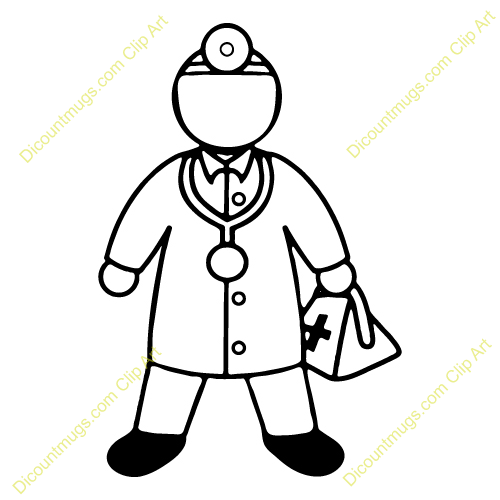 Doctor Tools Clipart Black And White Clipart Panda Free