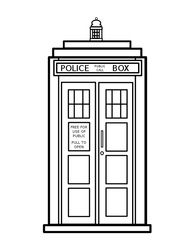 Doctor bag coloring page clipart panda free clipart images for D is for doctor coloring page