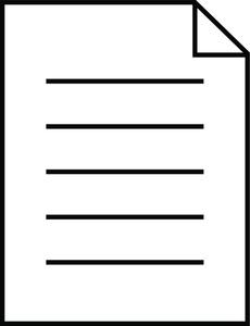 Document Clip Art Images