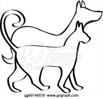 Dog and cat clip art clipart panda free clipart images dog20and20cat20clip20art ccuart Gallery