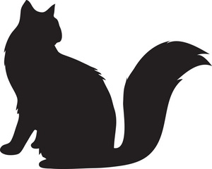 Clip Art Cat Silhouette Clip Art dog and cat silhouette clip art free clipart panda free