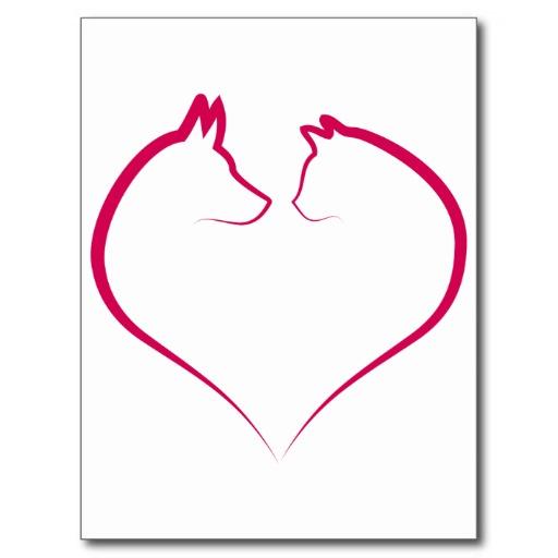 cat heart clipart - photo #16