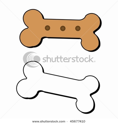 858 free dog bone clipart images  Public domain vectors