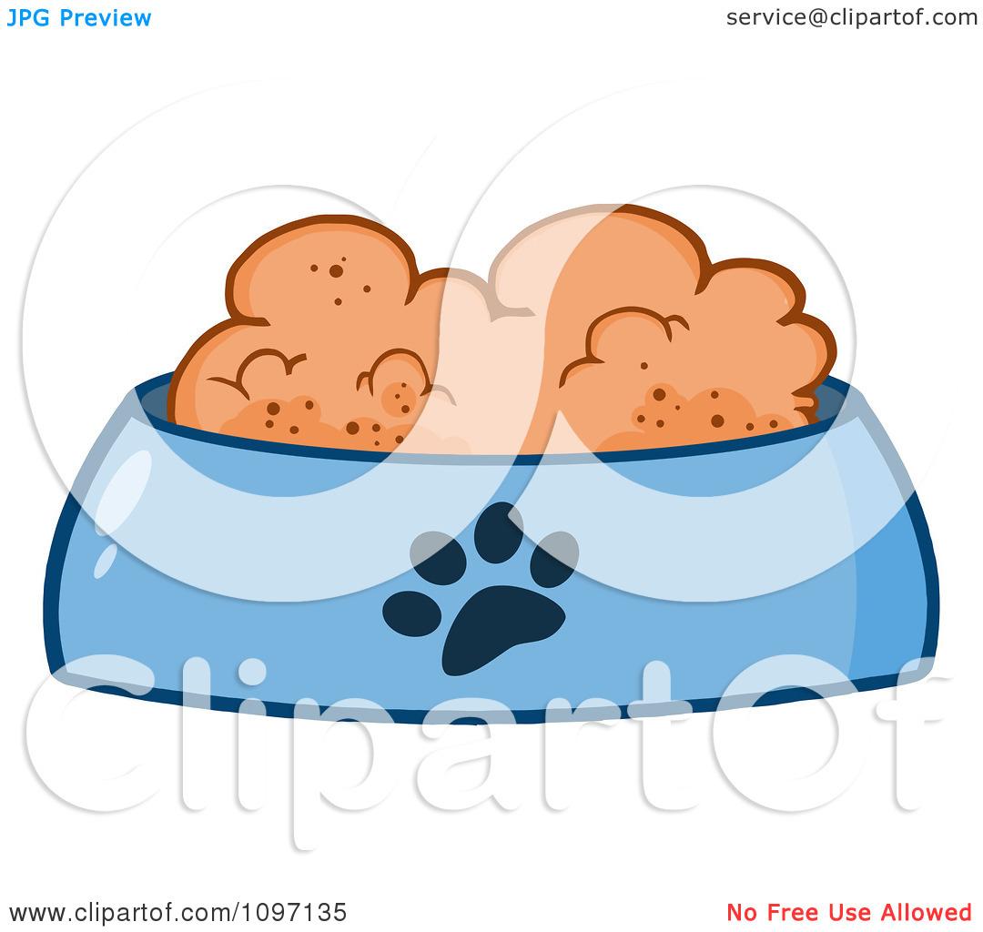 clipart dog bowl - photo #23