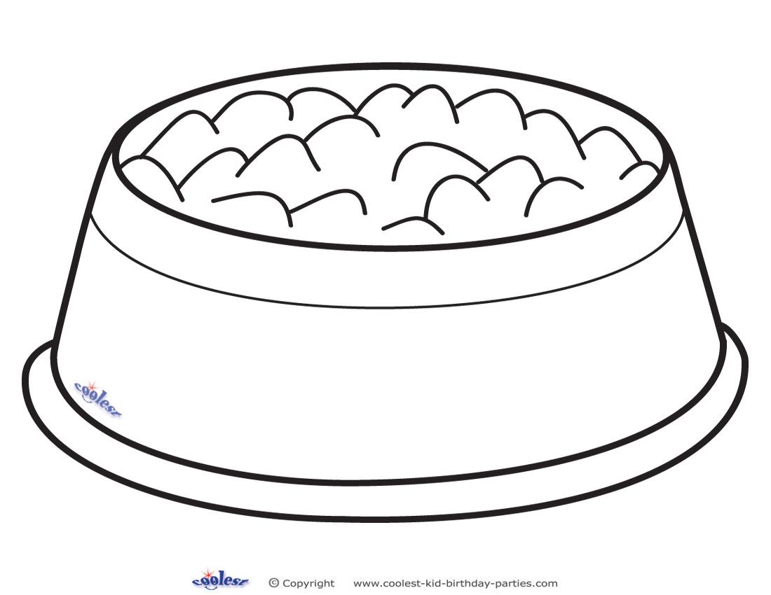 clipart dog bowl - photo #26