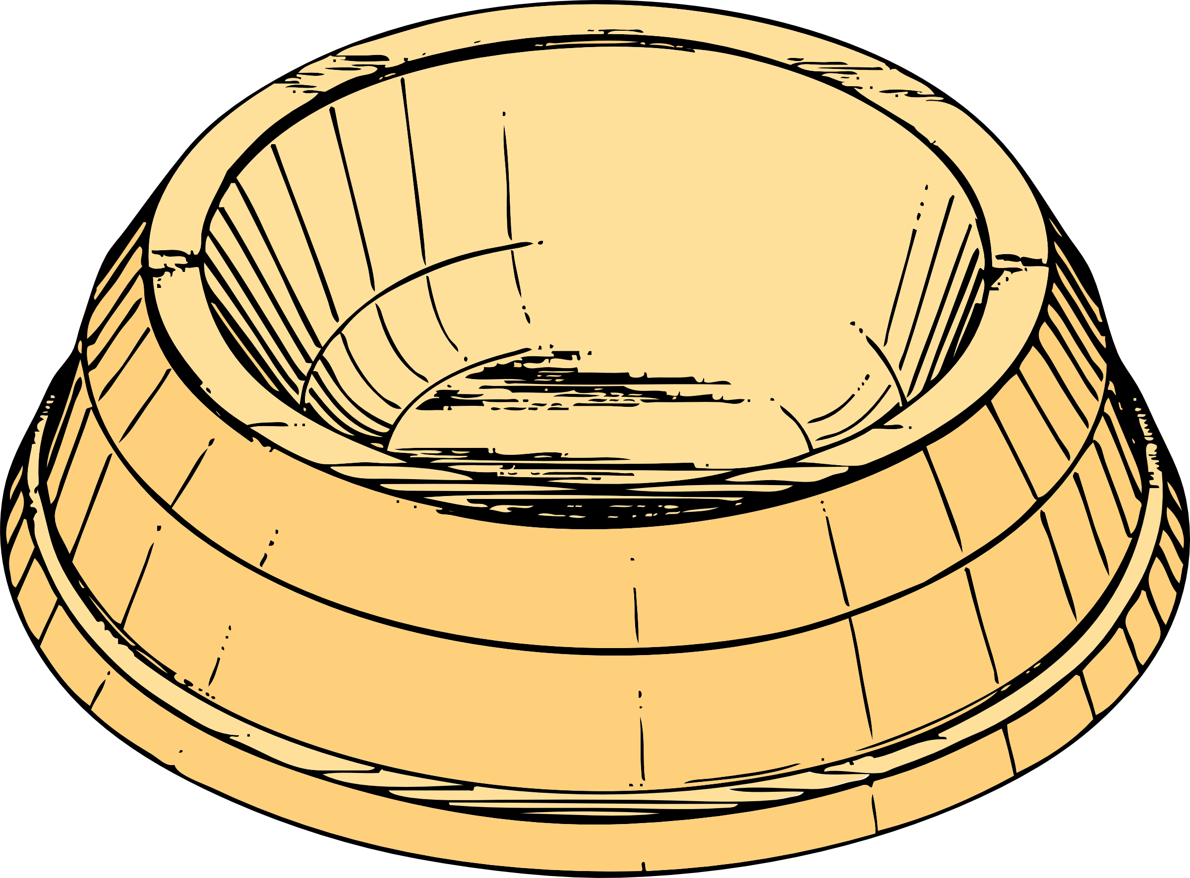 Dog Food Bowl Cartoon