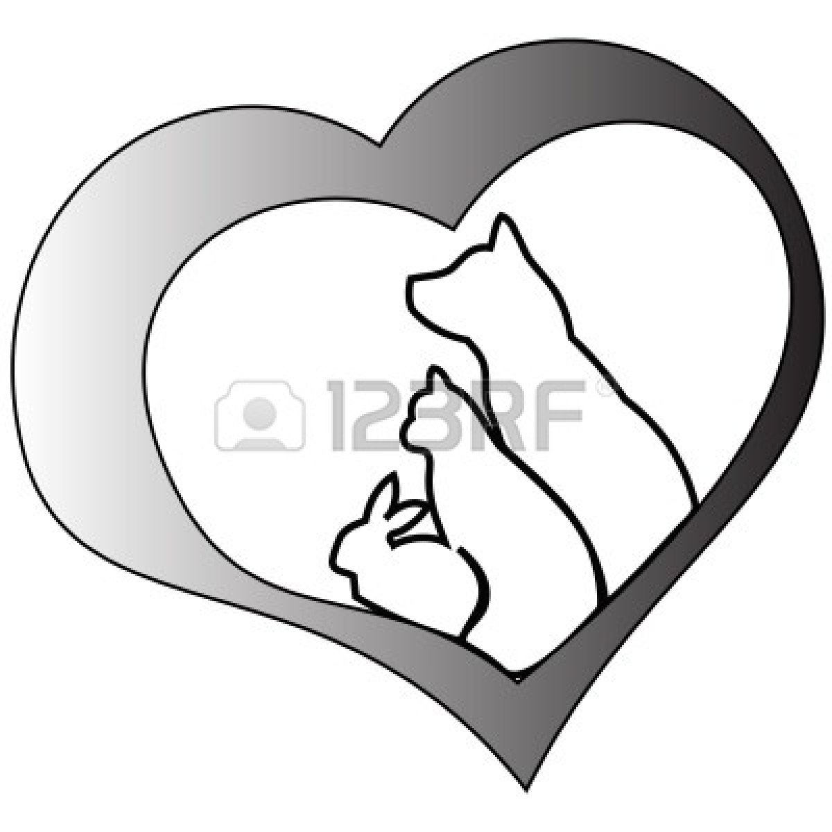 Dog Chasing Cat Clip Art | Clipart Panda - Free Clipart Images