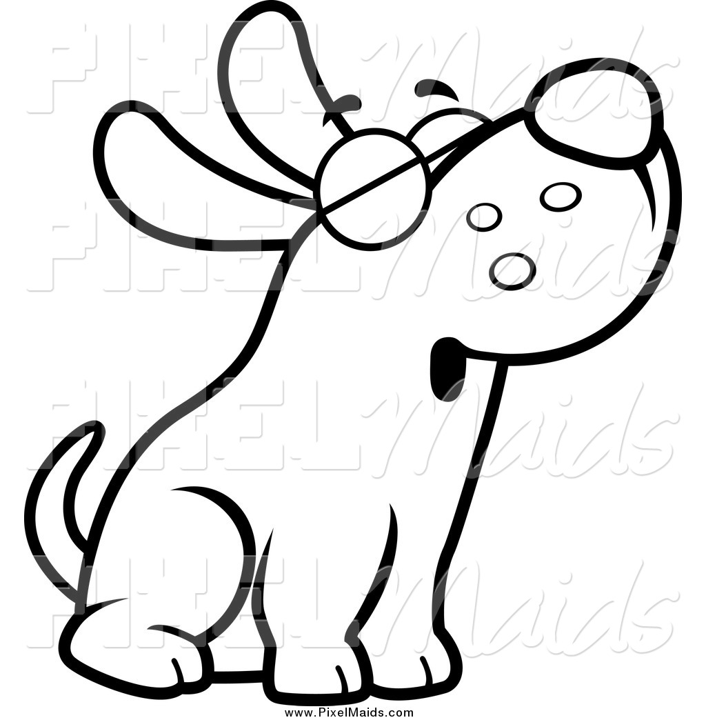 dog clip art black and white clipart panda free clipart images rh clipartpanda com black and white hot dog clipart black and white dog paw print clipart