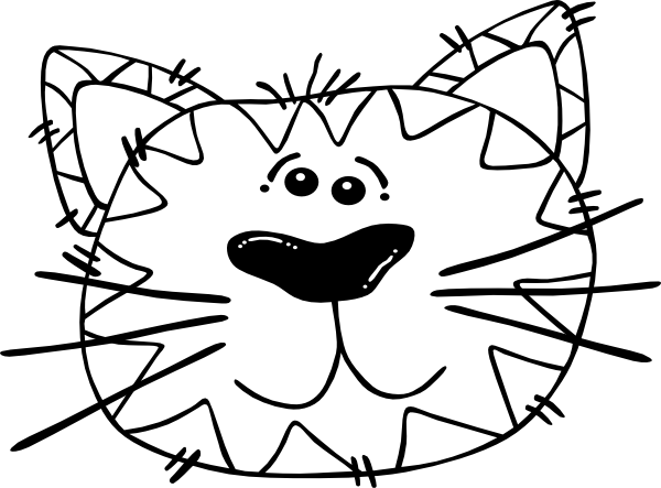 dog%20face%20clipart%20black%20and%20white