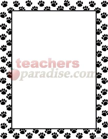 Dog Paw Border Clipart | Clipart Panda - Free Clipart Images