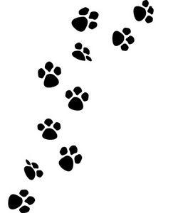 free dog paw print border clipart panda free clipart images rh clipartpanda com bear paw print border clip art bear paw print border clip art