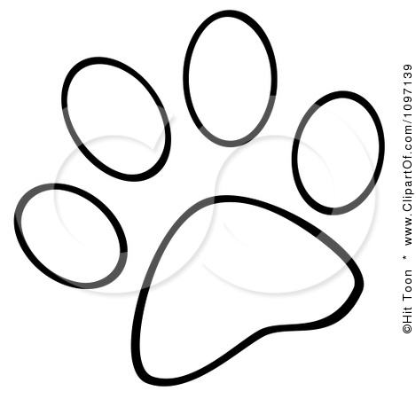 Dog Paw Vector Clipart Panda Free Clipart Images