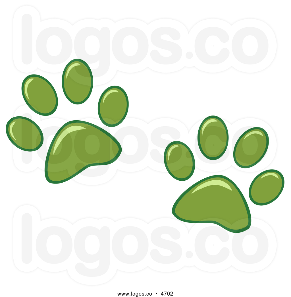 Green Dog Paw Clip Art | Clipart Panda - Free Clipart Images