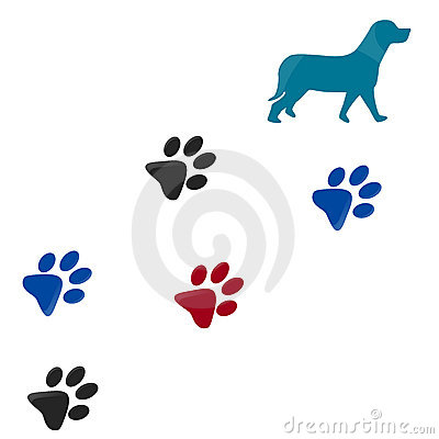dog paw print clip art free download clipart panda free clipart rh clipartpanda com muddy dog prints clipart dog print border clip art