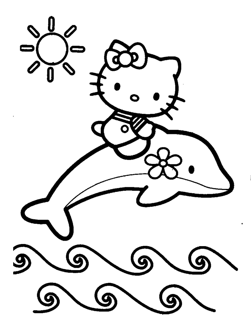 Coloring Pages Of Dolphins Diving Coloring Pages