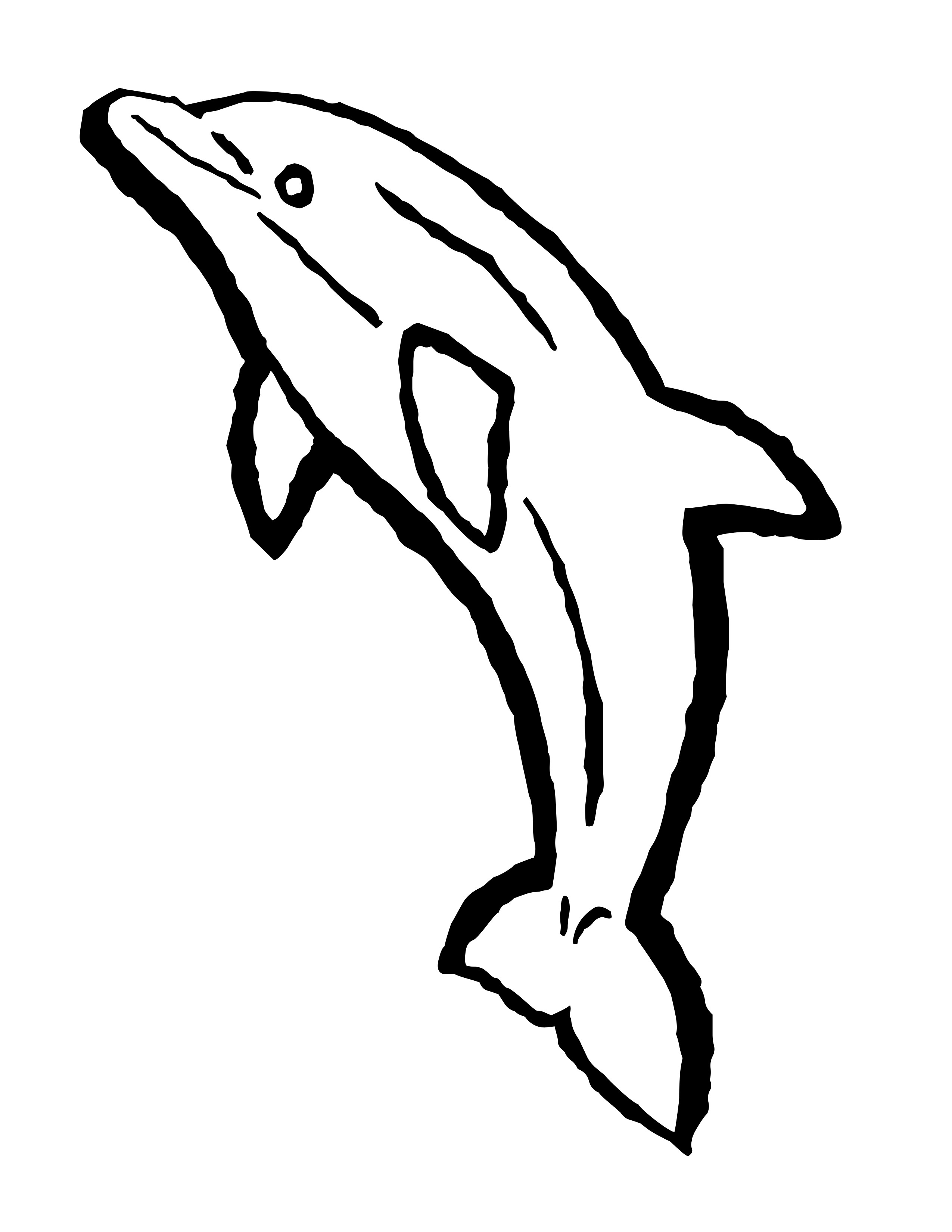 Water bottle coloring page water bottle coloring page clipart panda - Dolphin 20coloring 20pages