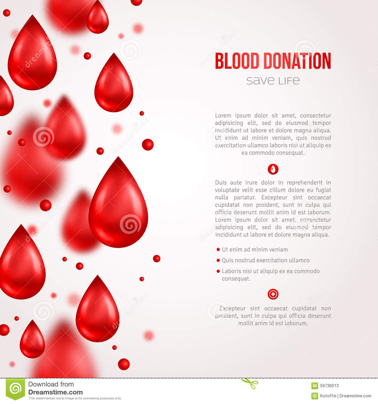 Report writing service blood donation campaign