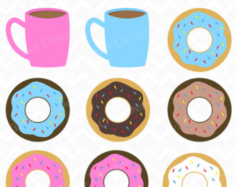 Coffee and Donuts ClipArt | Clipart Panda - Free Clipart Images