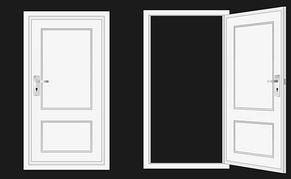 Open Front Door Clip Art