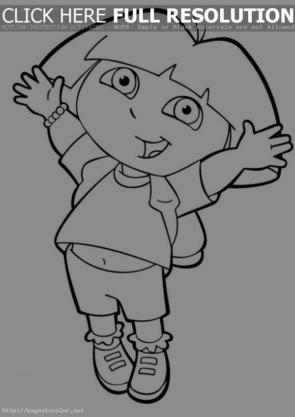 doras backpack coloring pages - photo #12