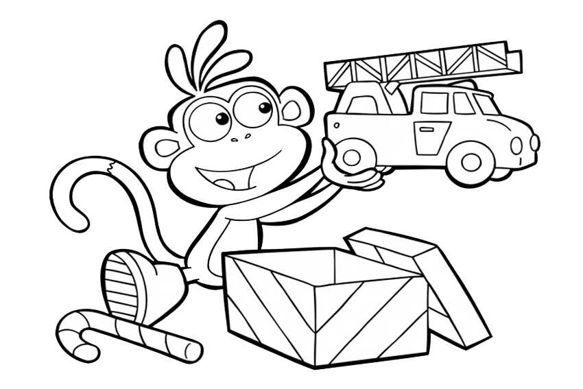doras backpack coloring pages - photo #33