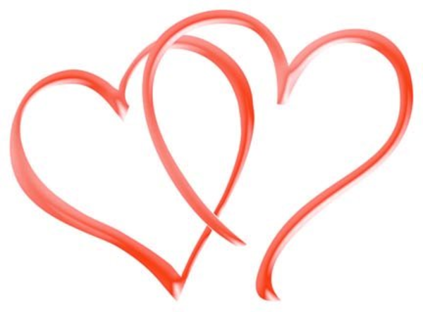 Double Hearts Clipart   Clipart Panda - Free Clipart Images