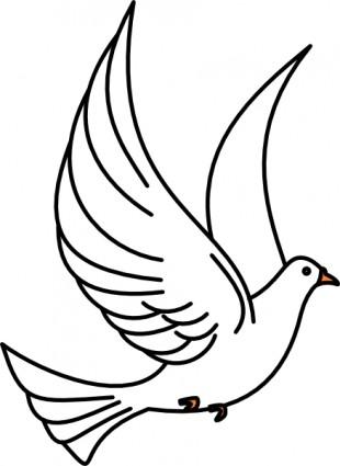 Birds outline. Clipart bird black and