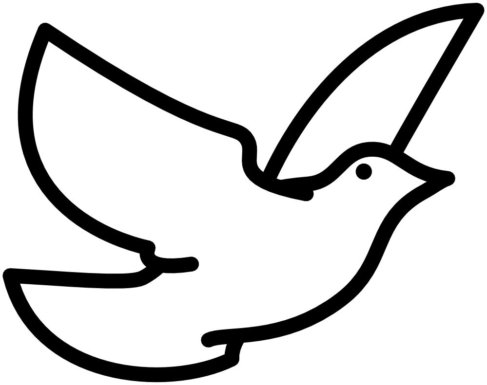 Dove Clipart Black And White | Clipart Panda - Free Clipart Images