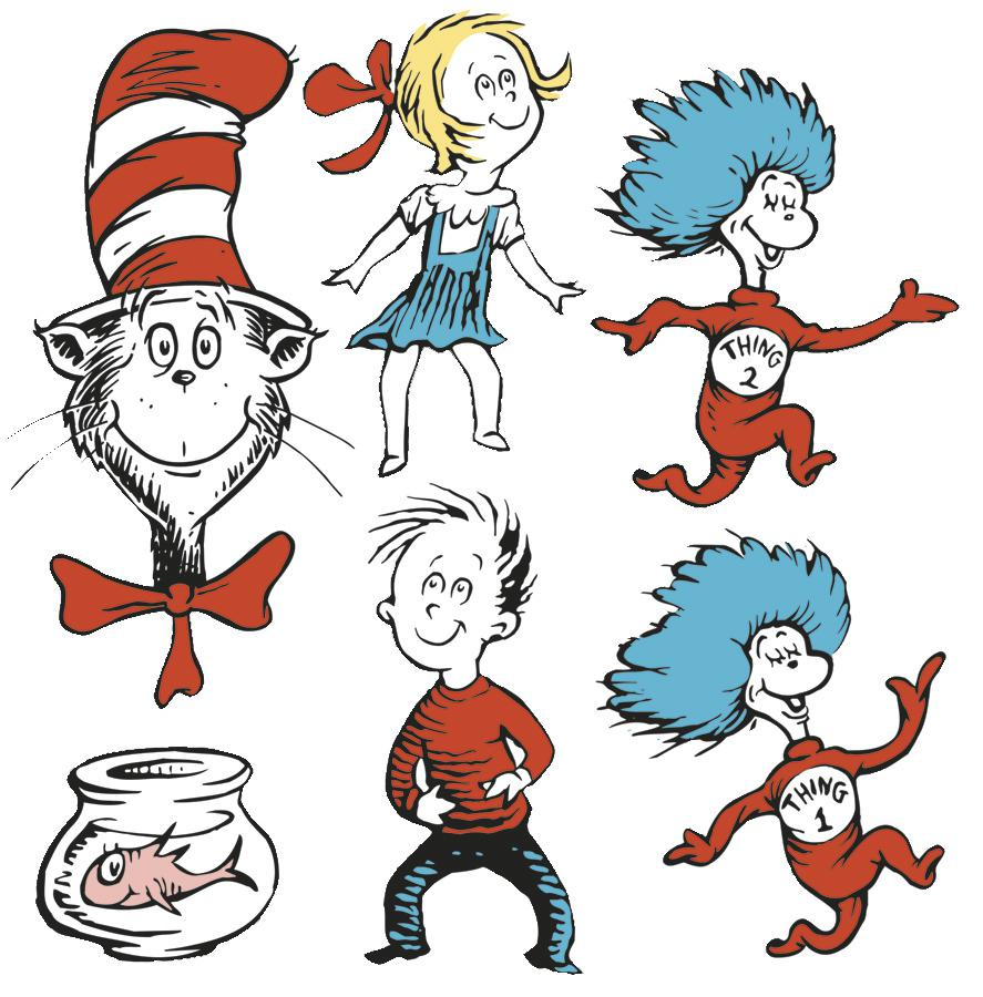 large dr seuss characters clipart panda free clipart images rh clipartpanda com Dr. Seuss Fish Clip Art Whoville Decorations Clip Art