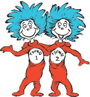 dr seuss coloring pages thing 1 and thing 2 clipart panda free rh clipartpanda com Thing 1 and Thing 2 Hair Clip Art thing 1 and thing 2 clipart free
