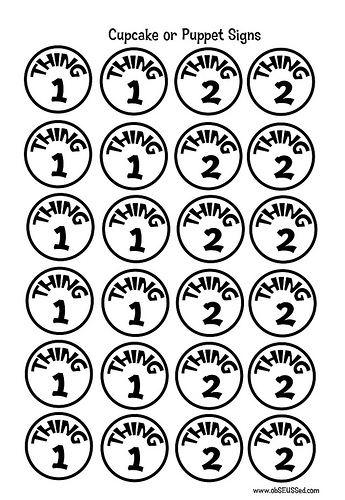 photo about Thing 1 and Thing 2 Printable Cutouts known as Dr Seuss Coloring Internet pages Matter 1 And Matter 2 Clipart Panda