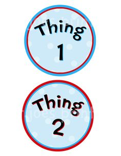 image relating to Thing 2 Logo Printable called Dr Seuss Coloring Internet pages Matter 1 And Matter 2 Clipart Panda