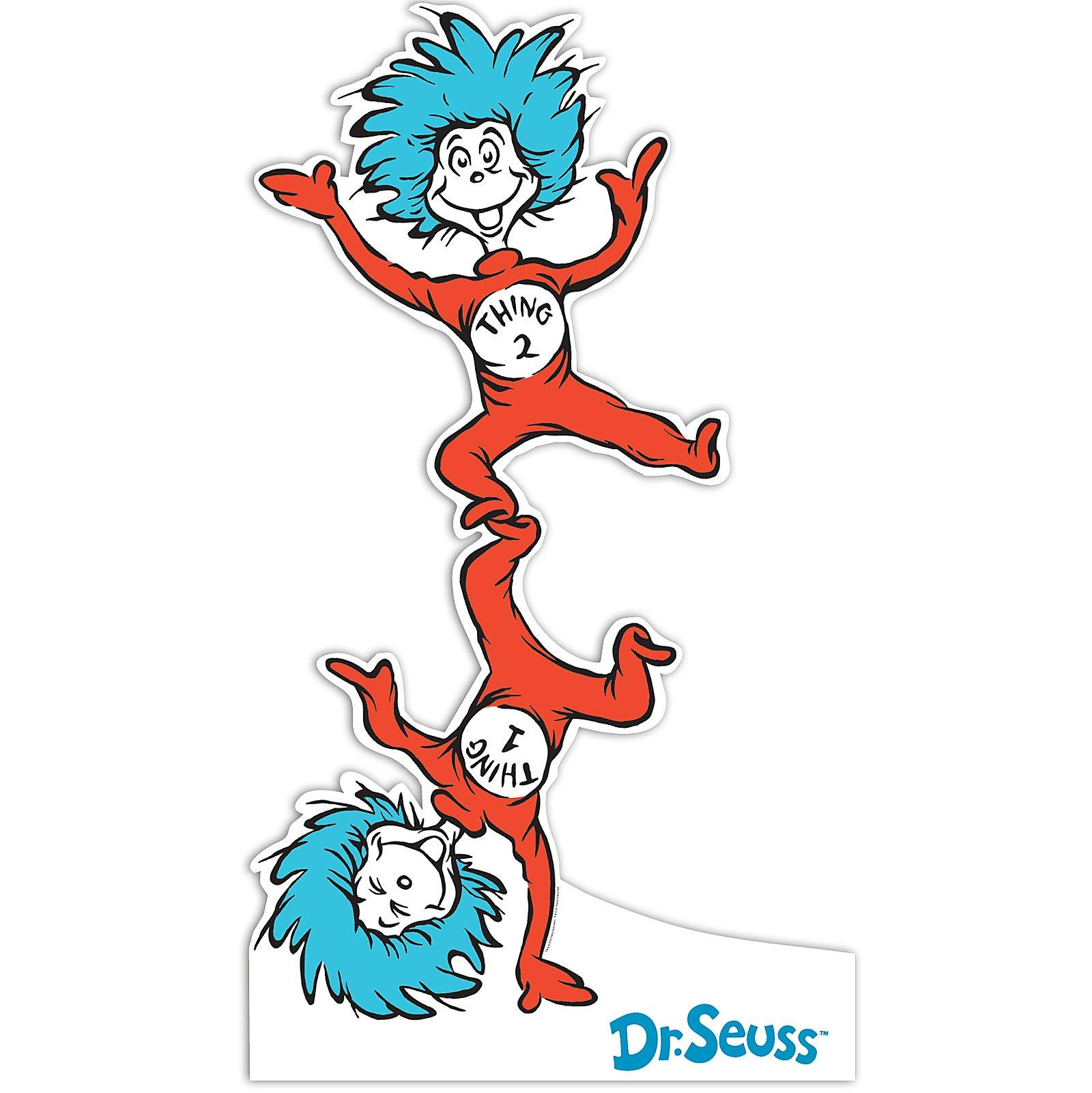 dr seuss coloring pages thing 1 and thing 2 clipart Thing Stands Thing Hand and Clip Art One Two Doing Black and White One and Thing Two Thing